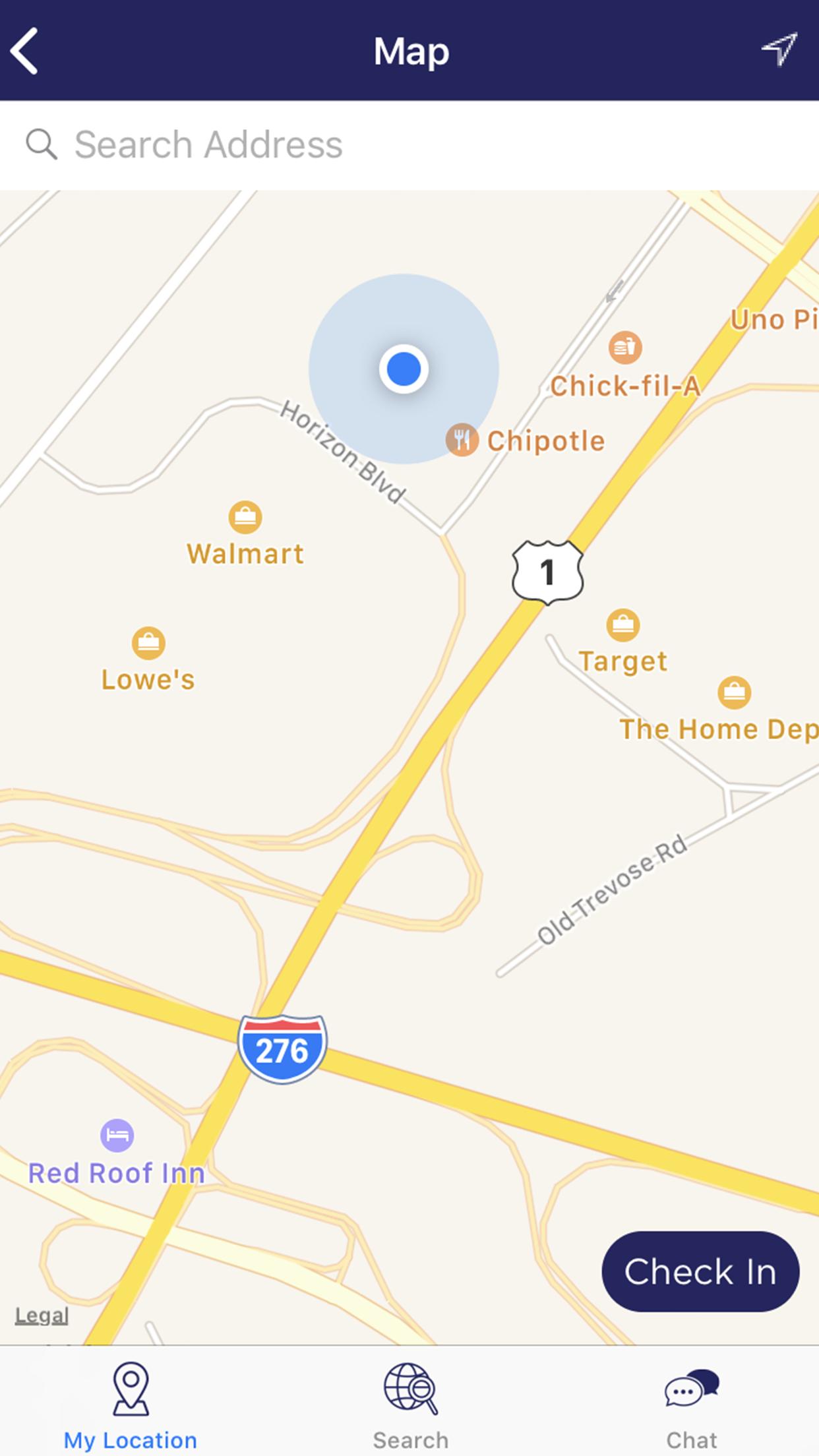 TravelTracker Map Sample